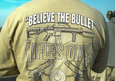 Believe the Bullet