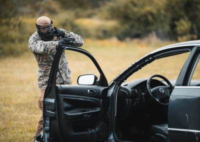 Shooting from Vehicles
